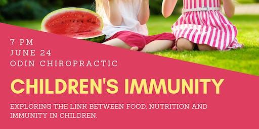Kids Nutrition & Immunity Workshop