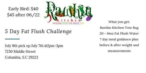 5 Day Fat Flush Water Challenge