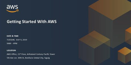 AWS Basic Workshop - Getting Started with AWS - July 9, 2019 tickets