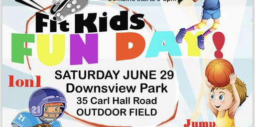 Kids Fun Day at Downsview Park