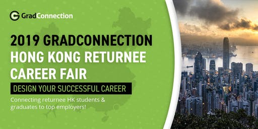 2019 GradConnection Hong Kong Returnee Career Fair