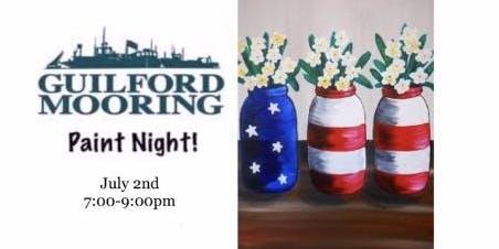 Paint Night at Guilford Mooring 7/2