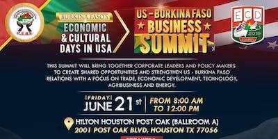 U.S. - BURKINA FASO BUSINESS SUMMIT