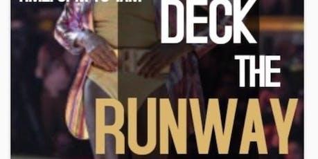 Deck The Runway tickets