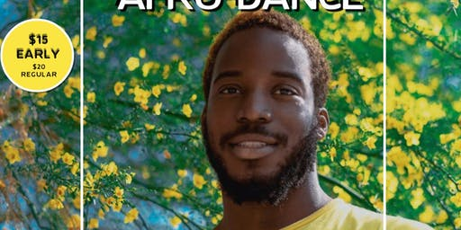 AfroDance with Anthony (06/29)- All levels (12:15PM CHECK IN)