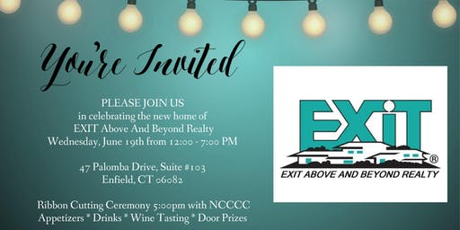 EXIT Above And Beyond Realty Open House & Ribbon Cutting