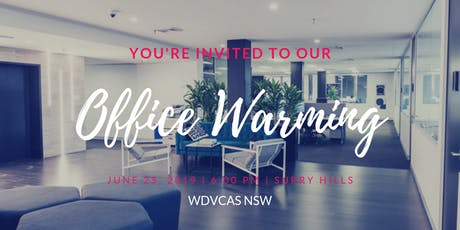 WDVCAS NSW Office Warming tickets