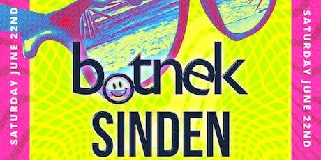 Botnek & Sinden at EPTX tickets