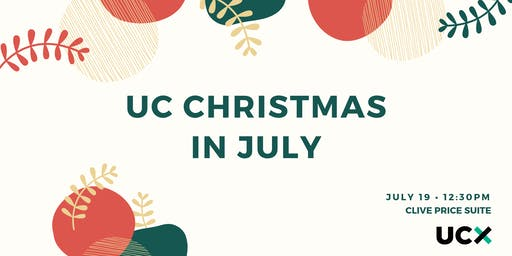 UC Staff Christmas in July 2019
