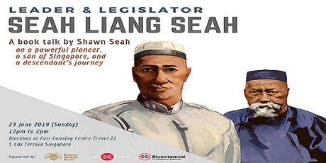 Leader & Legislator - Seah Liang Seah : A Book Talk & Engagement Session tickets