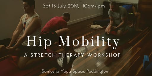 Hip Mobility: a Stretch Therapy workshop