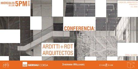 Los Arditti en la Casa del Arquitecto entradas