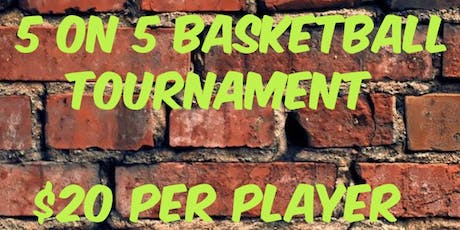 SPLASH ENT PRESENTS: 5 on 5 BASKETBALL TOURNAMENT @ Mercer tickets