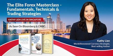The Elite Forex Masterclass -  Fundamentals,Technicals & Trading Strategies tickets