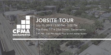 CFMA Jobsite Tour - The Press (Brown Construction) tickets