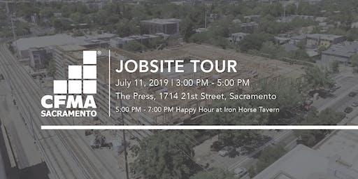CFMA Jobsite Tour - The Press (Brown Construction)