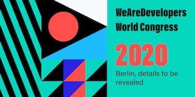 WeAreDevelopers World Congress 2020
