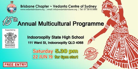 Vedanta Centre 15th Annual Multicultural Day tickets