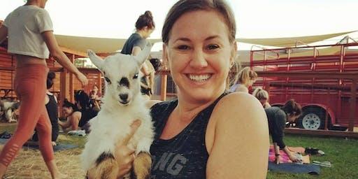 TruthTribe Goat Yoga + Community Time for Teen Girls