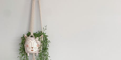 Macrame Wall Plant Hanging Workshop  tickets