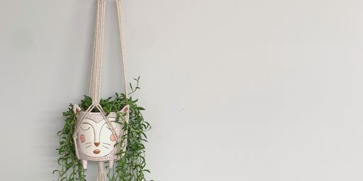 Macrame Wall Plant Hanging Workshop