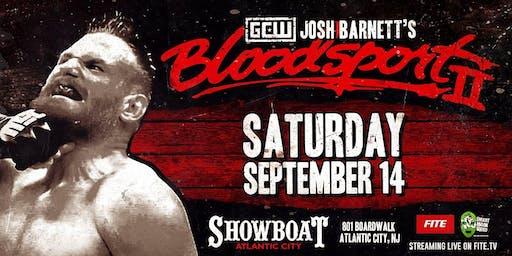 GCW presents Josh Barnett's Bloodsport 2