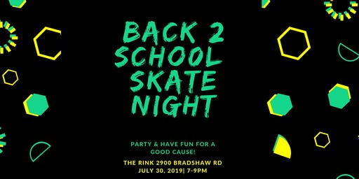 Back 2 School Skate Night