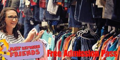 Free Admission Shopping Pass - JBF Northshore Fall 2019