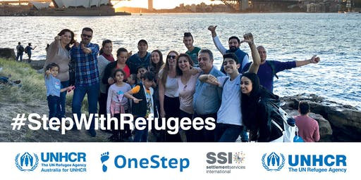 OneStep community walk with UNHCR - Pirrama Park, Pyrmont, Sun 16 June, 11am