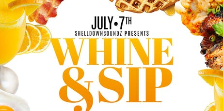 WHINE & SIP tickets