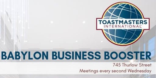 Babylon Business Booster Toastmasters Club