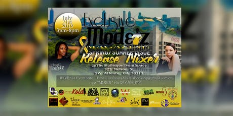 "Exclusive Modelz Magazine ""Spring/Summer Issue"" Release Mixer tickets"