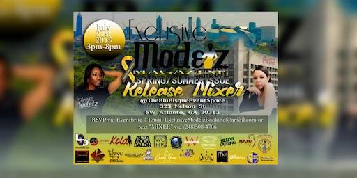 "Exclusive Modelz Magazine ""Spring/Summer Issue"" Release Mixer"