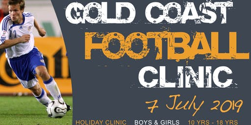 Gold Coast Football Clinic - Train with Socceroos Craig Moore, Danny Tiatto