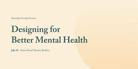 Designing for Better Mental Health tickets