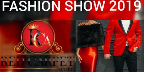 Red Carpet Attire: Fashion Show tickets