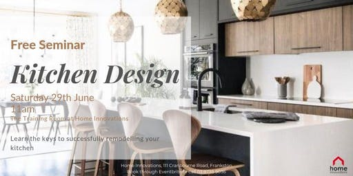 Free Kitchen Design Seminar