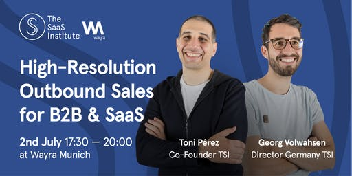 Scaling B2B SaaS effectively with Outbound Sales |Munich