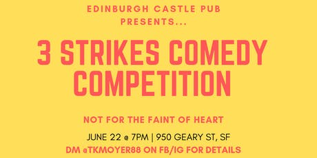 June 3 Strike Comedy Competition 2019 tickets