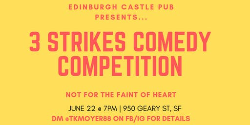 June 3 Strike Comedy Competition 2019