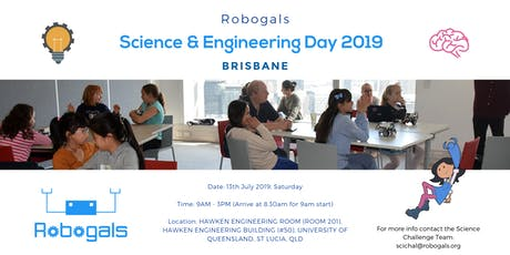 Brisbane Science and Engineering Day [July 2019] tickets