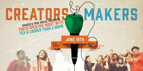 Creators & Makers tickets