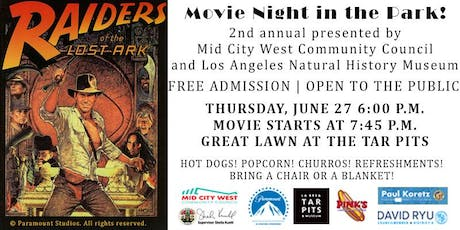 Mid City West Community Council Movie Night in the Park! tickets