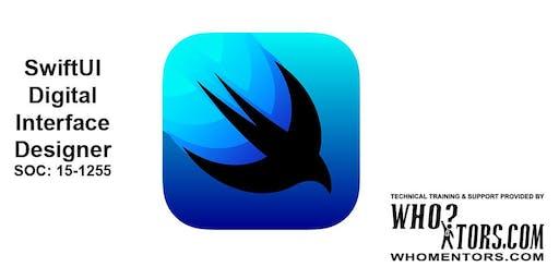 SwiftUI Digital Interface Designers, Xcode 11, iOS 13 (SOC: 15-1255)