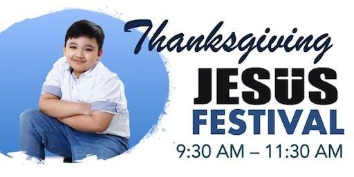 Thanksgiving Jesus Festival & Book Launch