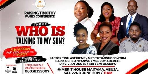 Raising Timothy Family Conference 2019