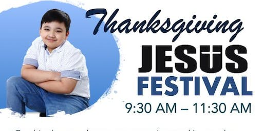 Thanksgiving JESUS Festival and Book Launch