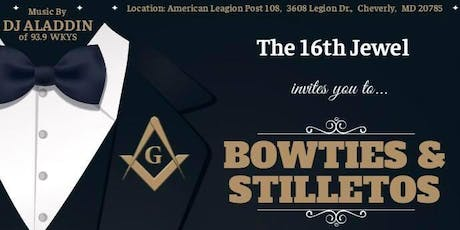 The 16th Jewel's Bowties & Stilletos Annual 3rd Degree Celebration tickets