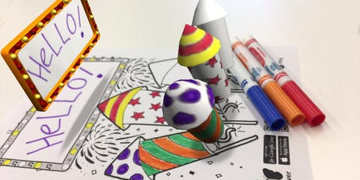 Colouring-in with Augmented Reality