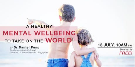 A Healthy Mental Wellbeing To Take On The World tickets